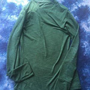 Prana yoga green long sleeve